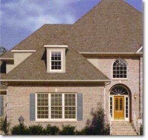Composition (asphalt) tile roof